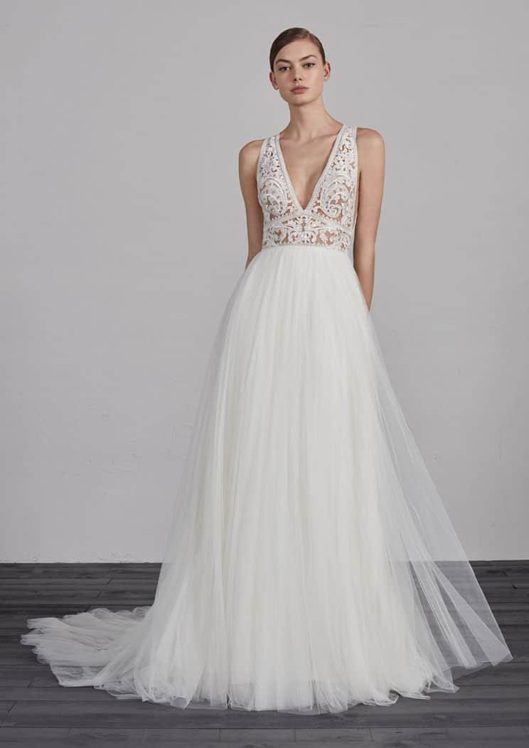 zum halben Preis starke verpackung professionelles Design Schmale Brautkleider, Moderne Hochzeitskleider-Termin ...